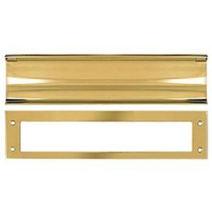 Deltana Heavy Duty Mail Slot - PVD Polished Brass